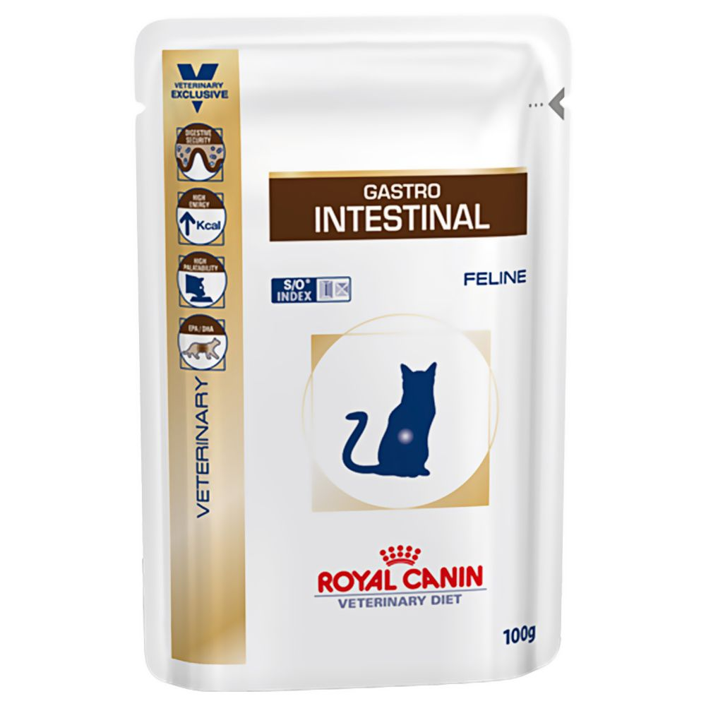 Royal Canin Veterinary Diet Cat - Gastro Intestinal - Saver Pack: 48 x 100g