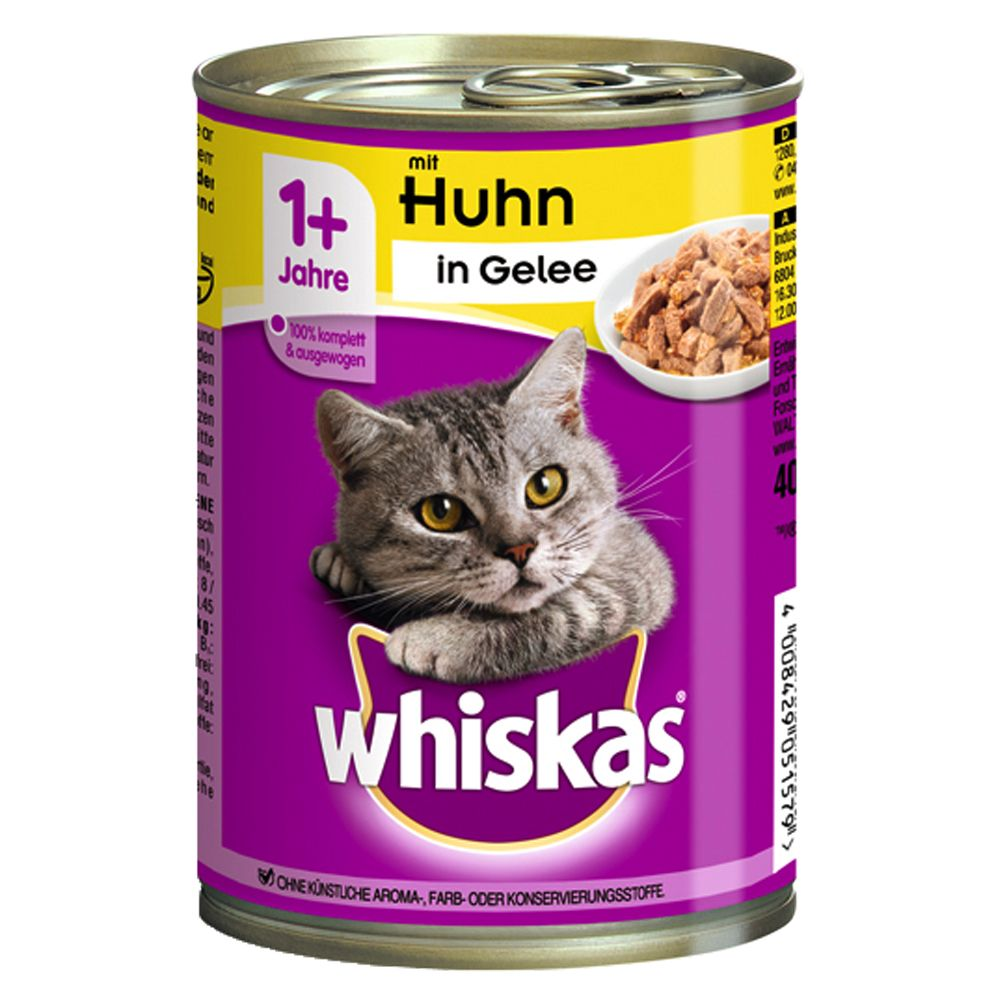 12 x 400g Whiskas 1+ Cans