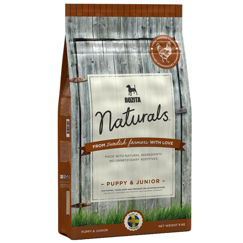 Bozita Naturals Puppy & Junior - Economy Pack: 2 x 12.5kg