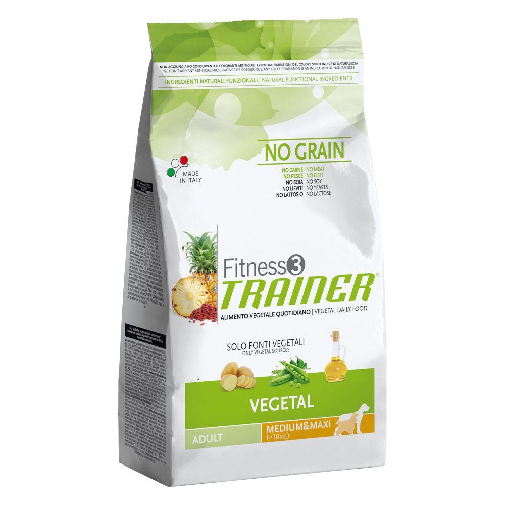 Foto Trainer Fitness 3 Adult Medium/Maxi No Grain Vegetal - 12,5 kg Fitness 3 - Size Medium & Maxi