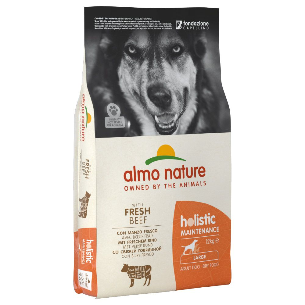 Almo Nature Holistic Dog Food Large Adult Beef & Rice