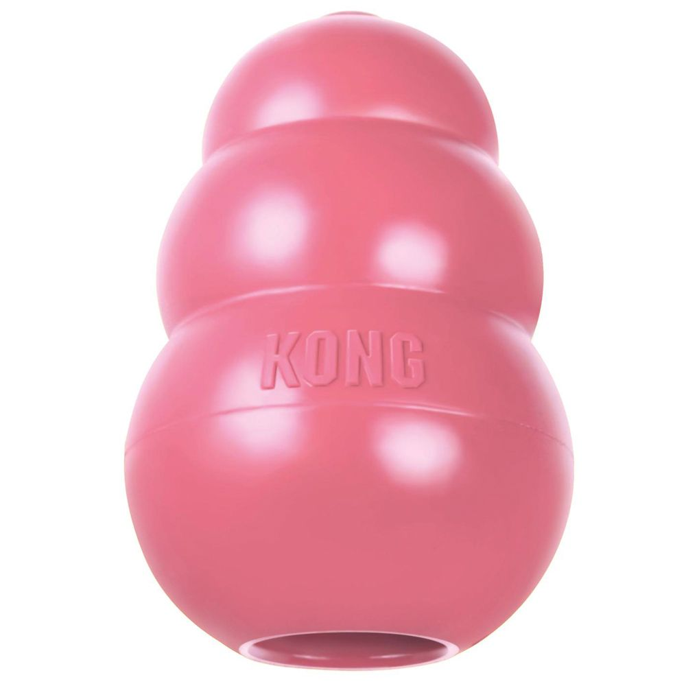 Small KONG Pink Puppy Dog Toy