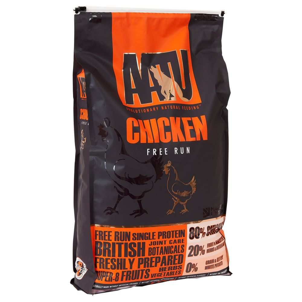 AATU 80/20 Complete Grain Free - Chicken - Economy Pack: 2 x 10kg