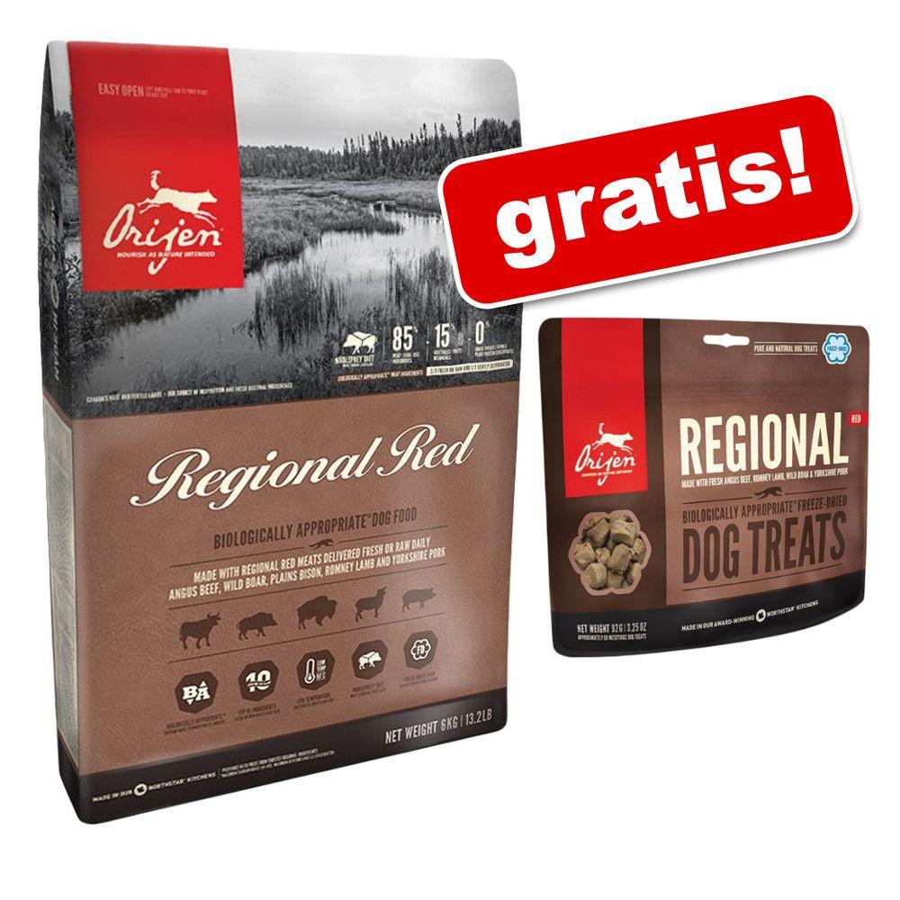 11,4 kg Orijen + przysmak Orijen Regional Red, 42,5 g gratis! - Orijen Adult 6-Fish, 11,4 kg