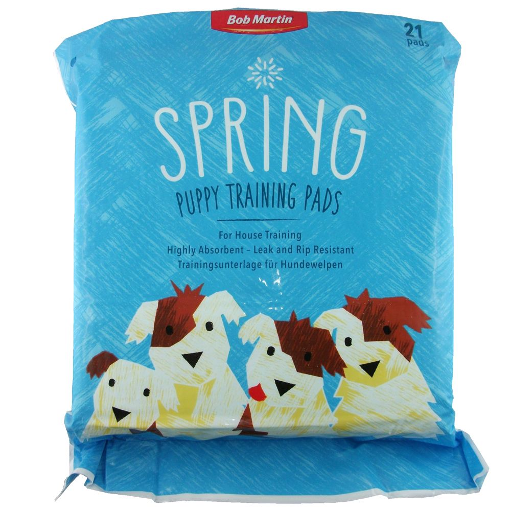 Bob Martin Spring Puppy Training Pads