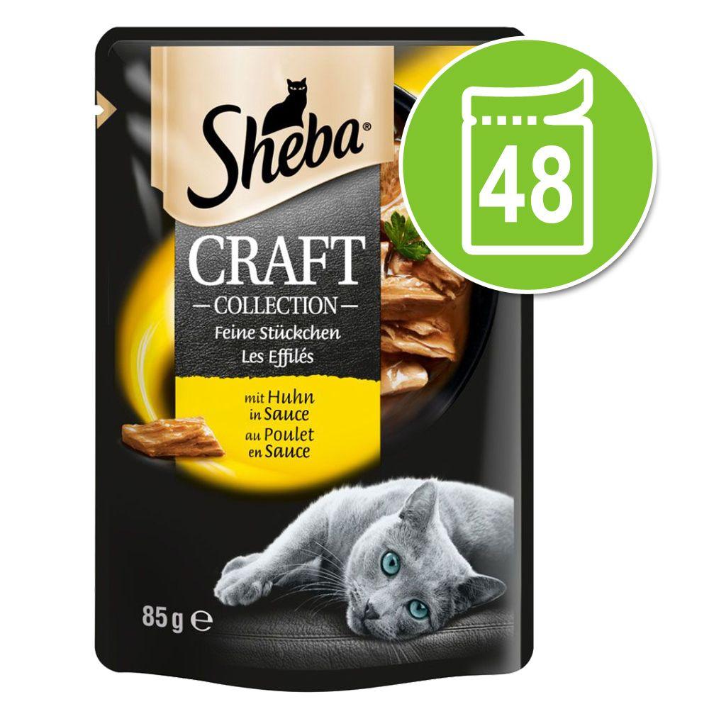 Sheba Craft Collection Pack 48 x 85 g - Thunfisch
