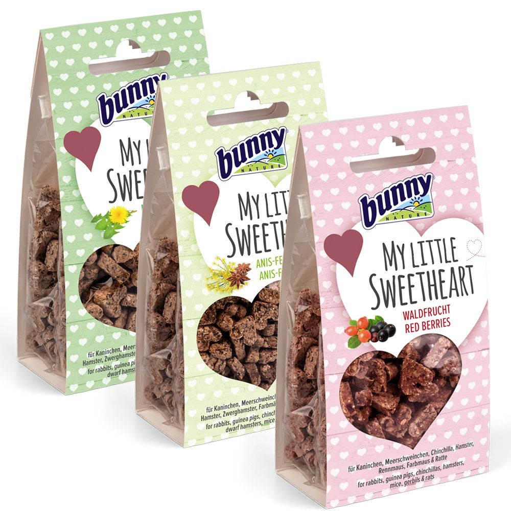 3 x 30g Bunny My Little Sweetheart Snacks