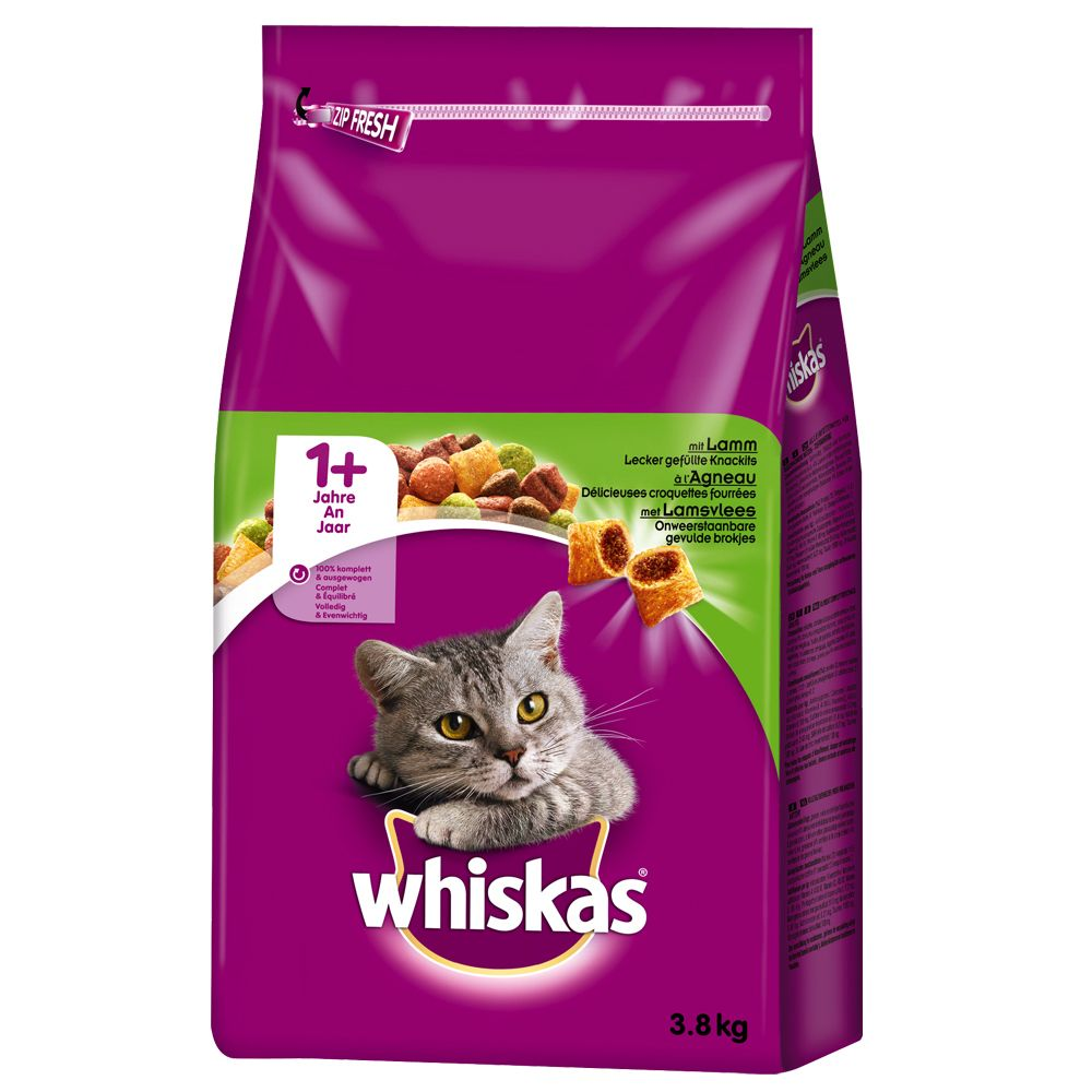 Lamb Whiskas 1+ Dry Cat Food