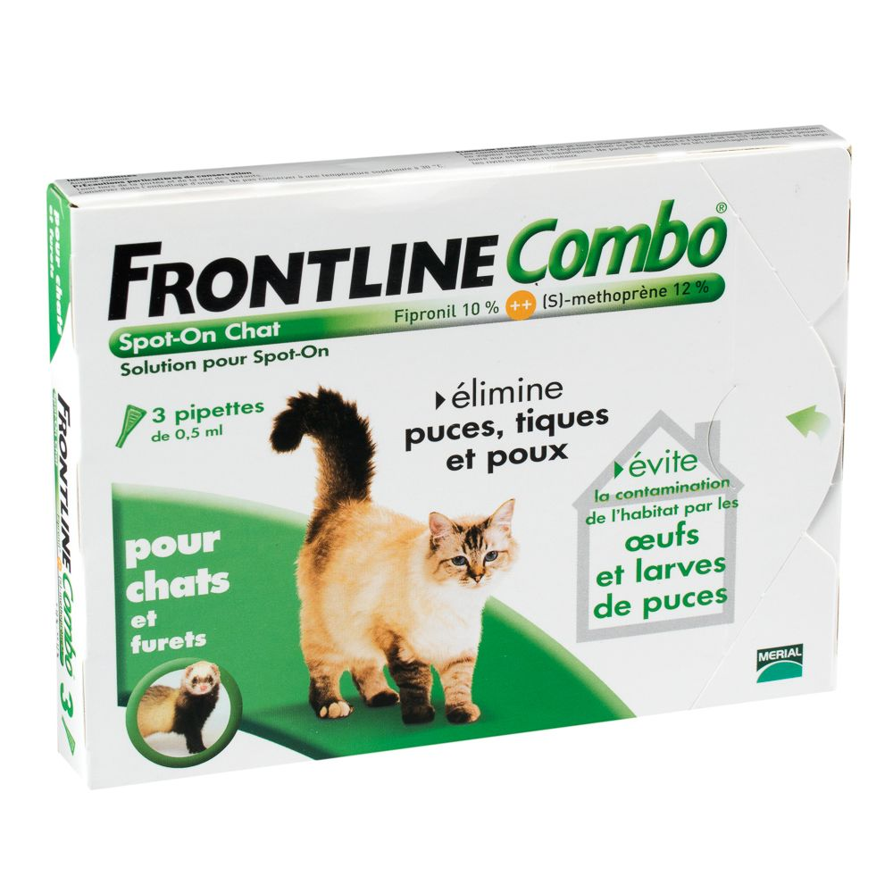 Chat Antiparasitaires Frontline