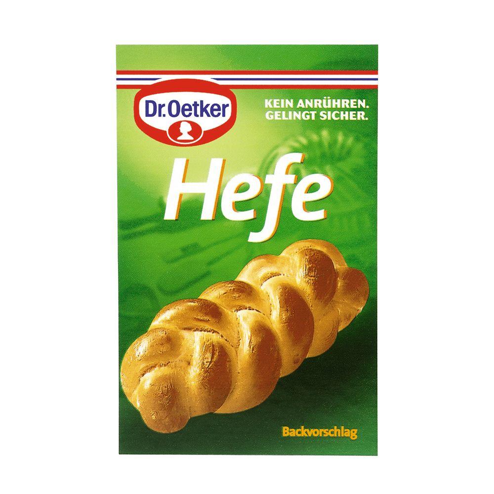 Image of Dr. Oetker Hefe 4er - 3 x 4 Beutel à 7 g