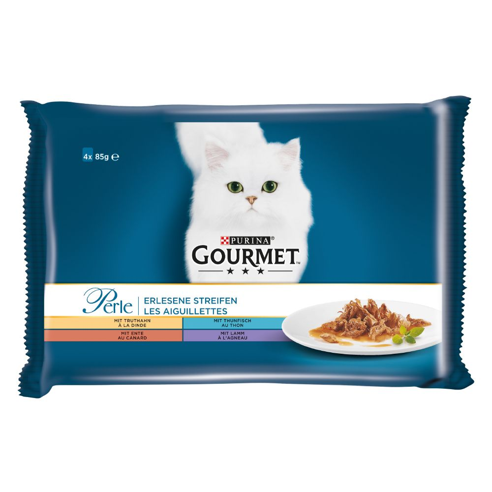Beef Rabbit Salmon & Chicken Gourmet Perle Wet Cat Food