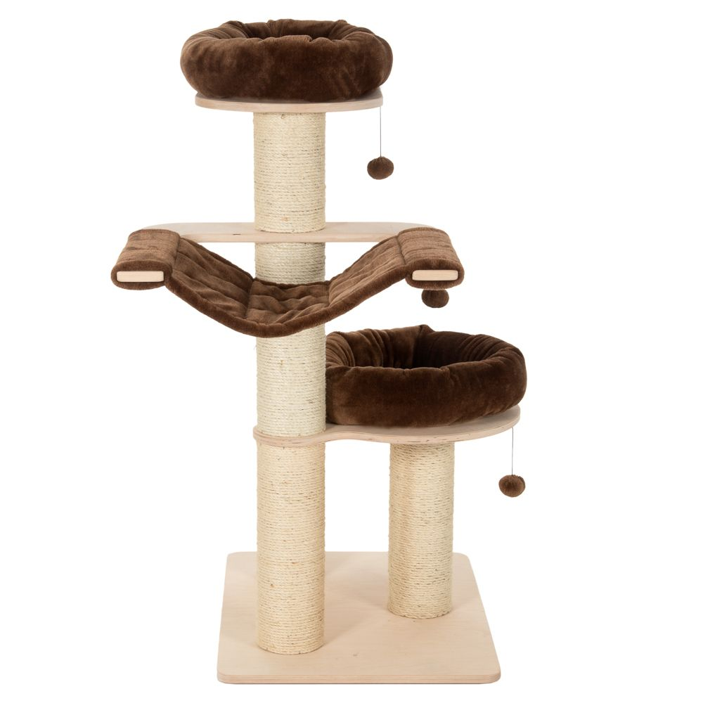 Natural Paradise Chocolate Medium Cat Tree