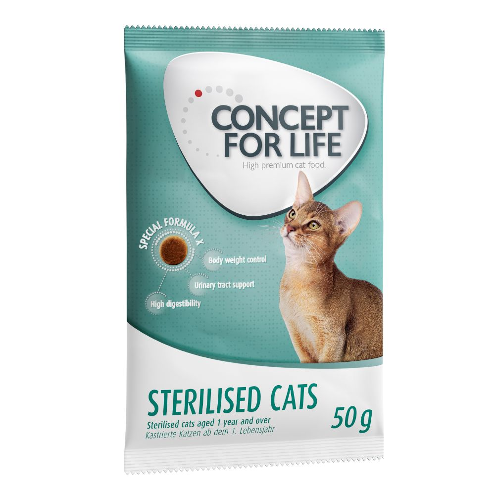 Concept for Life - 50g Trial Pack - All Cats