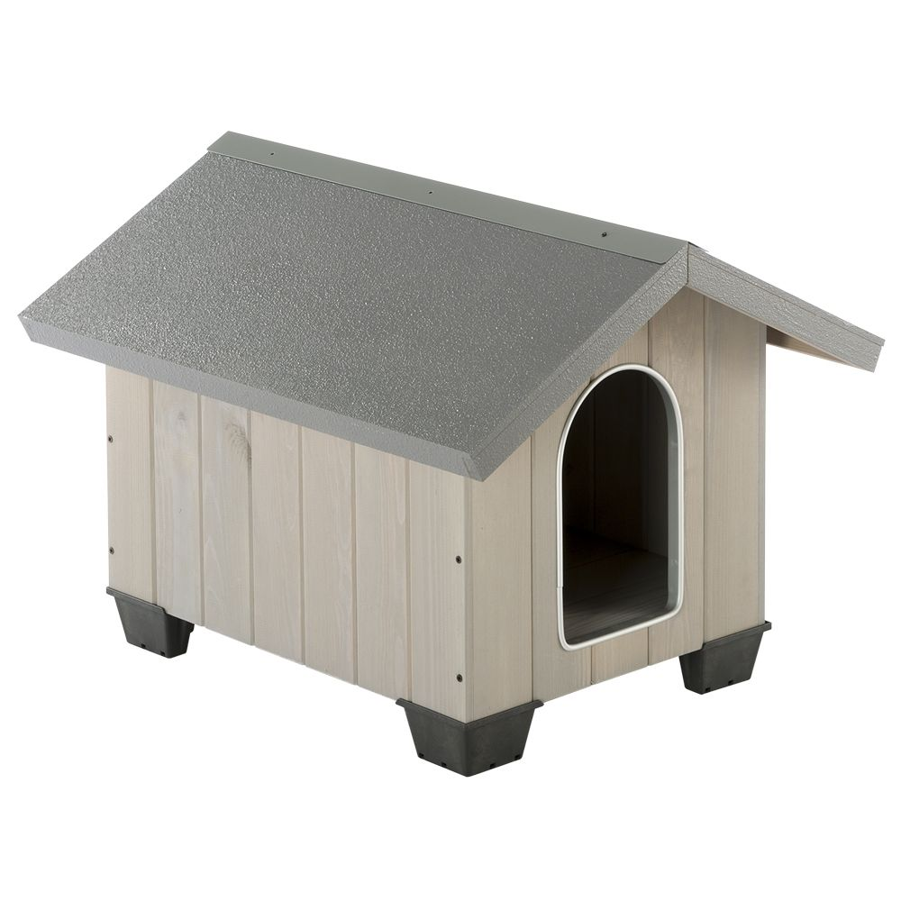 The Domus Dog Kennel is both functional and elegant, produced by premium manufacturer Ferplast and with a well-thought-out design and top-quality materials. This k...