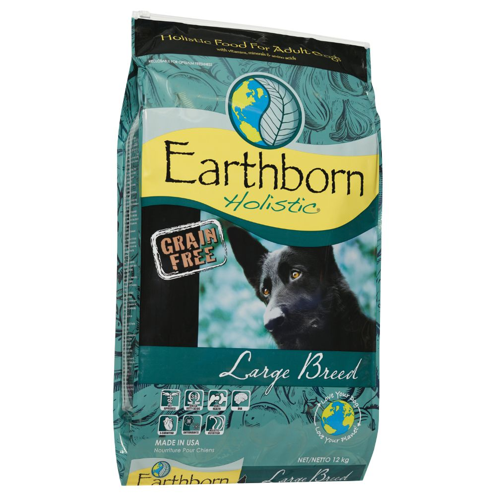 Earthborn Holistic Large Breed Dry Dog Food - 12kg