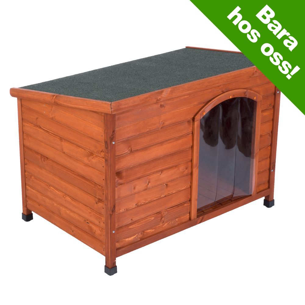 Woody hundkoja med pulpettak – Stl S: L 85 x B 57 x H 58 cm