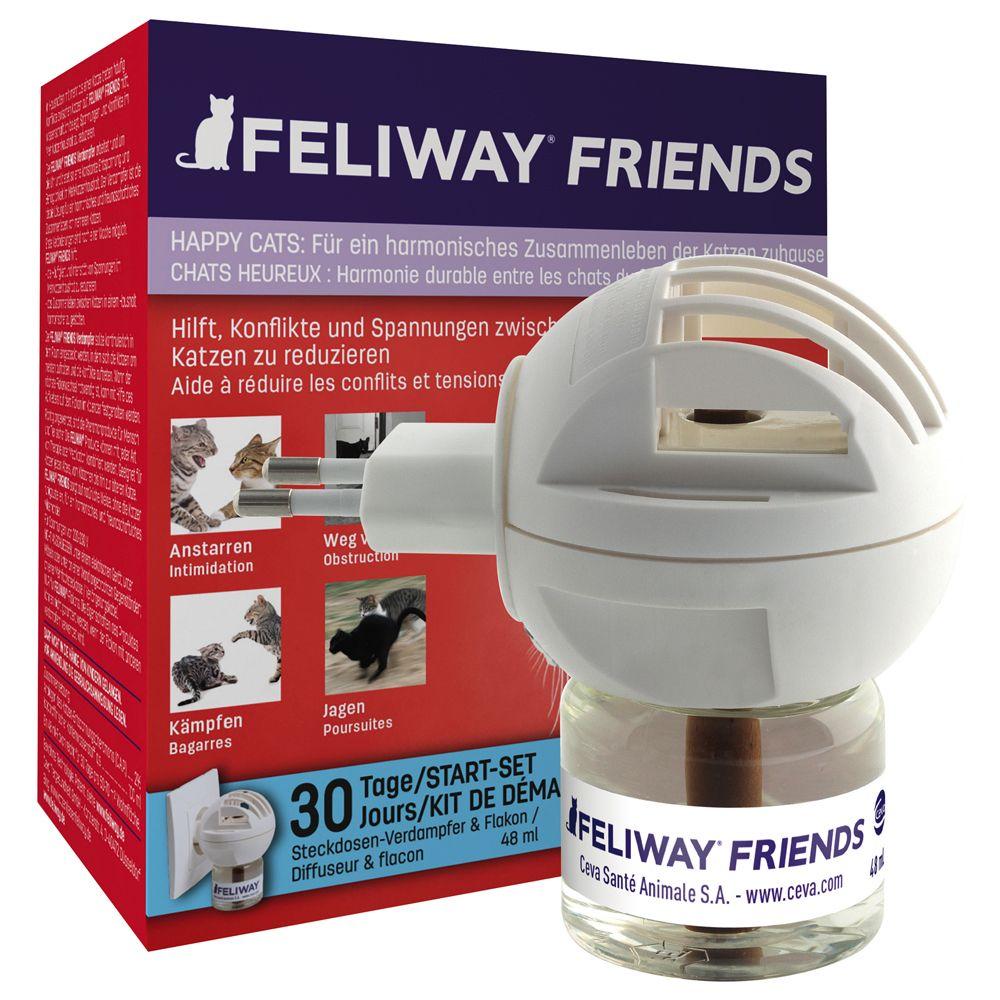 Feliway® Friends - Set aus Verdampfer für Steckdose + Flakon 48 ml