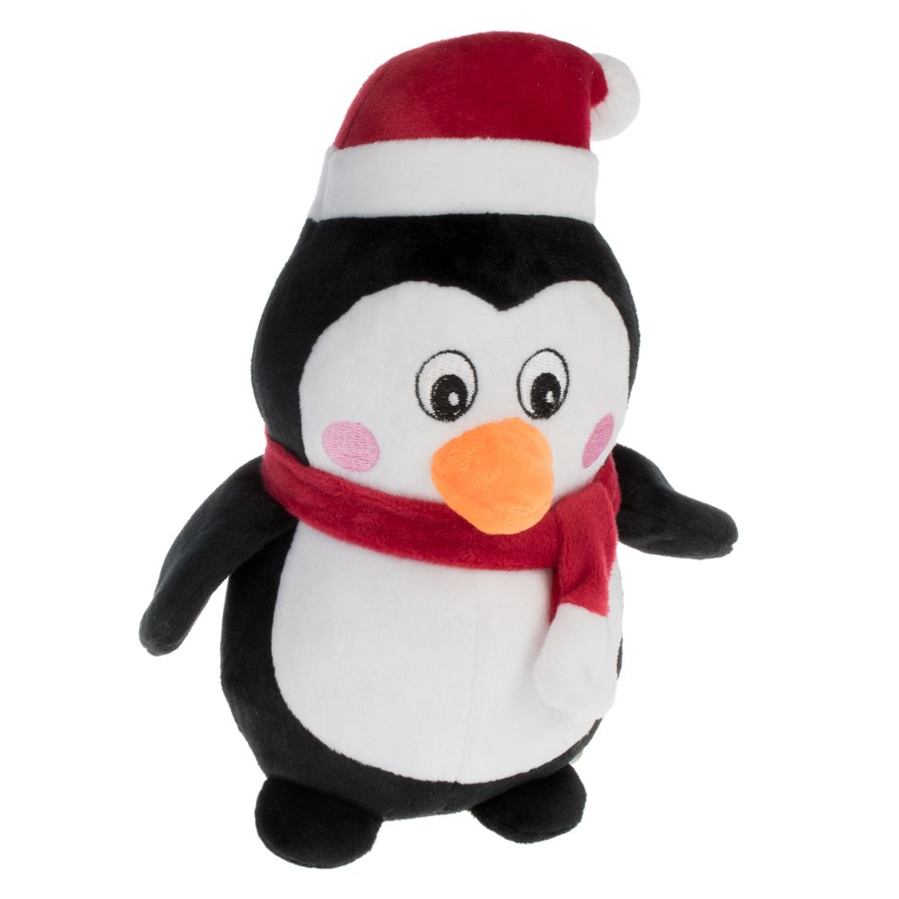 Plush Penguin Dog Toy - 1 Toy