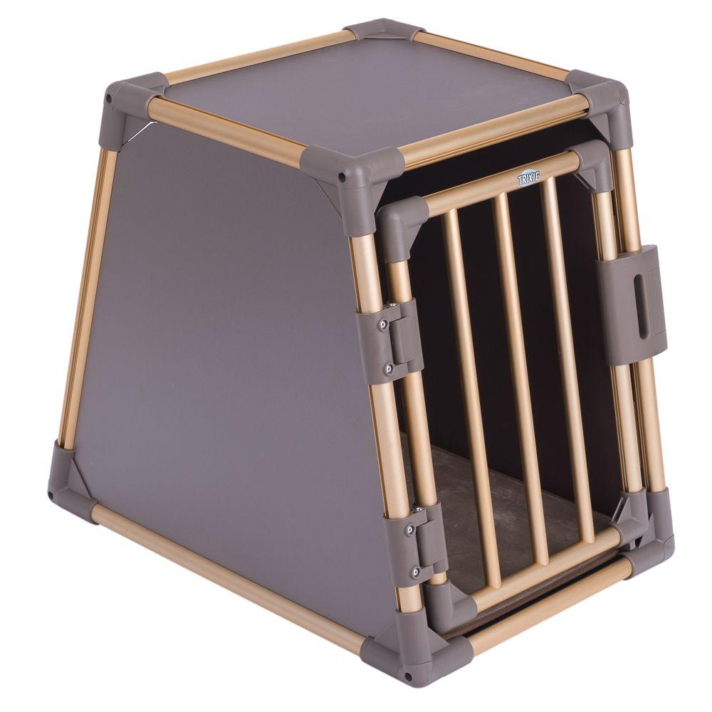 Trixie Transportbox Aluminium Sonderedition - G...