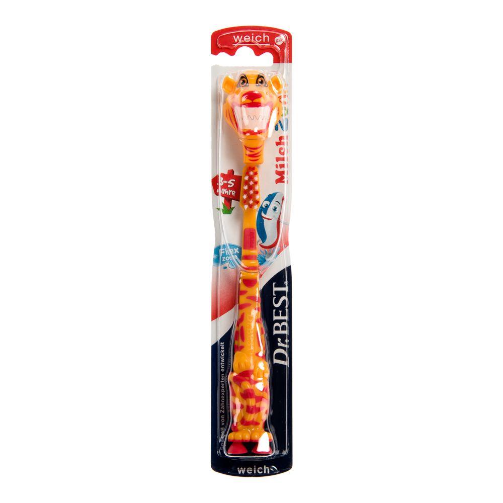 Edeka Dr. Best Zahnbürste Milchzahn 3-5 Jahre - 1 Zahnbürste