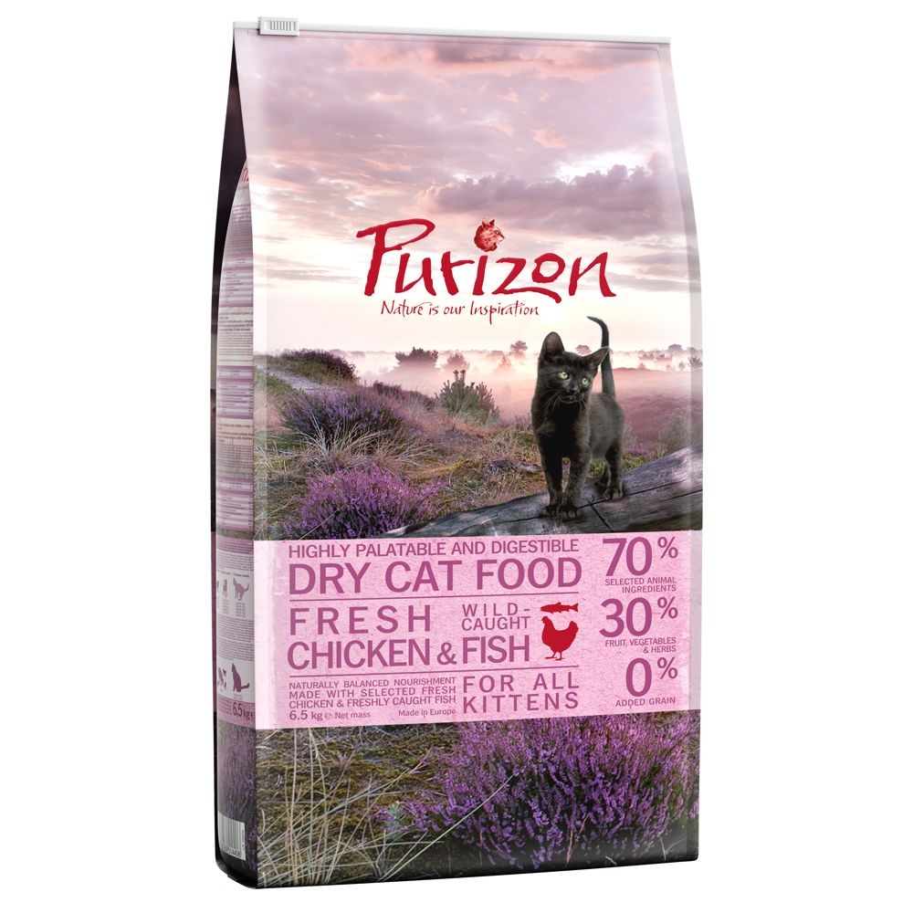 Kitten Chicken & Fish Purizon Dry Cat Food