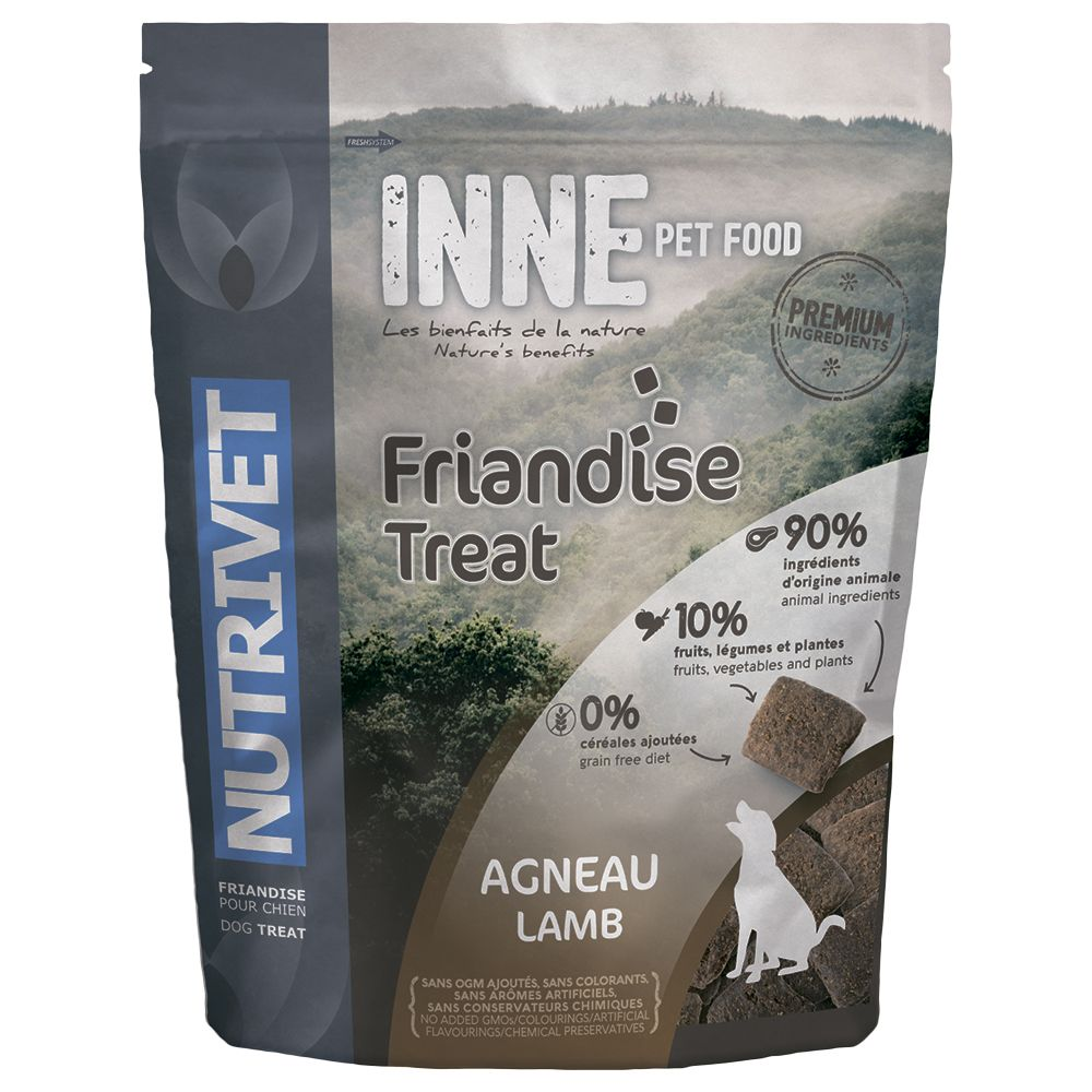Nutrivet Inne Dog Treats - Lamb - Saver Pack: 3 x 250g