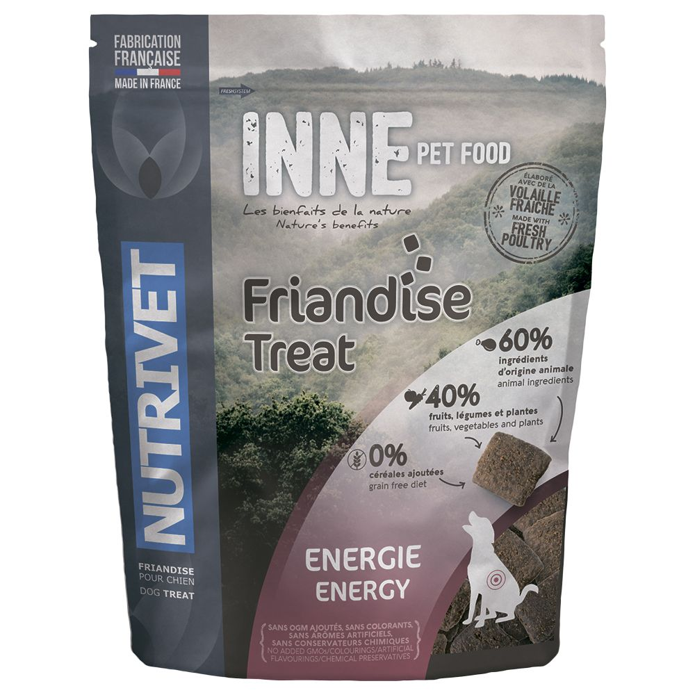 Nutrivet Inne Dog Treats - Energy - 250g