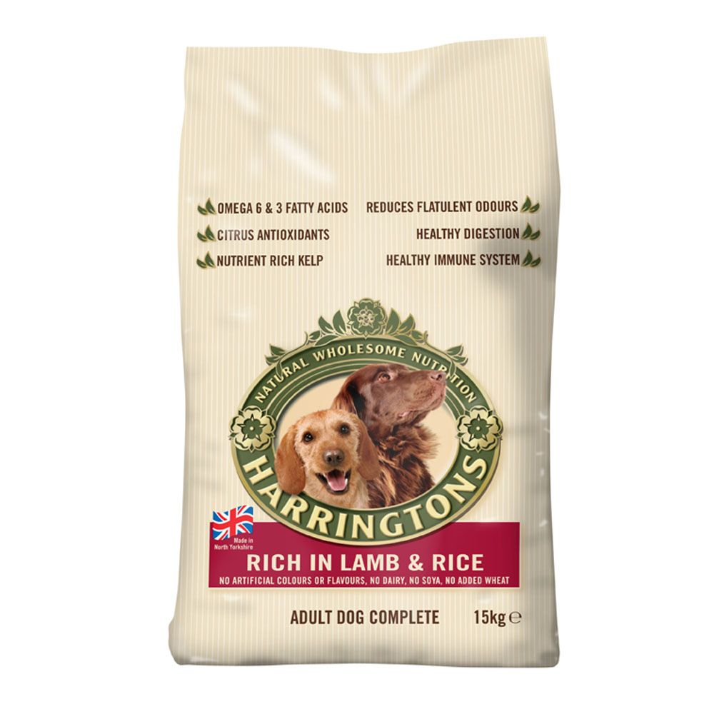 Harringtons Complete Adult Dog - Rich in Lamb & Rice - 15kg