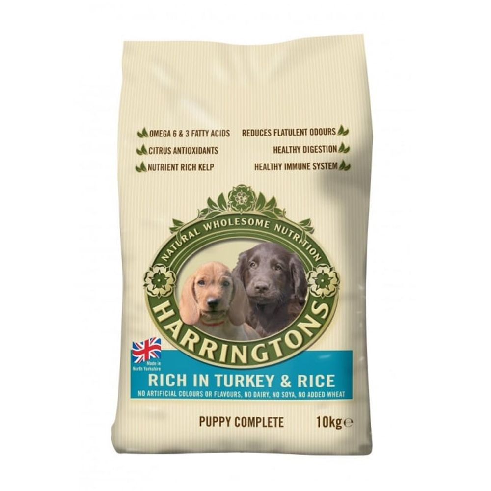 Harringtons Complete Puppy - Rich in Turkey & Rice - Economy Pack: 2 x 10kg