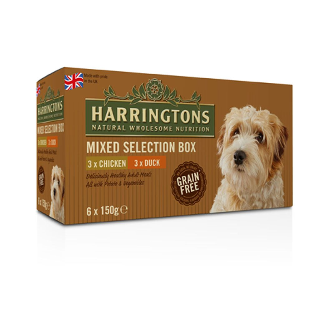 Harringtons Complete Adult Dog - Mixed Pack 150g - Saver Pack: 48 x 150g