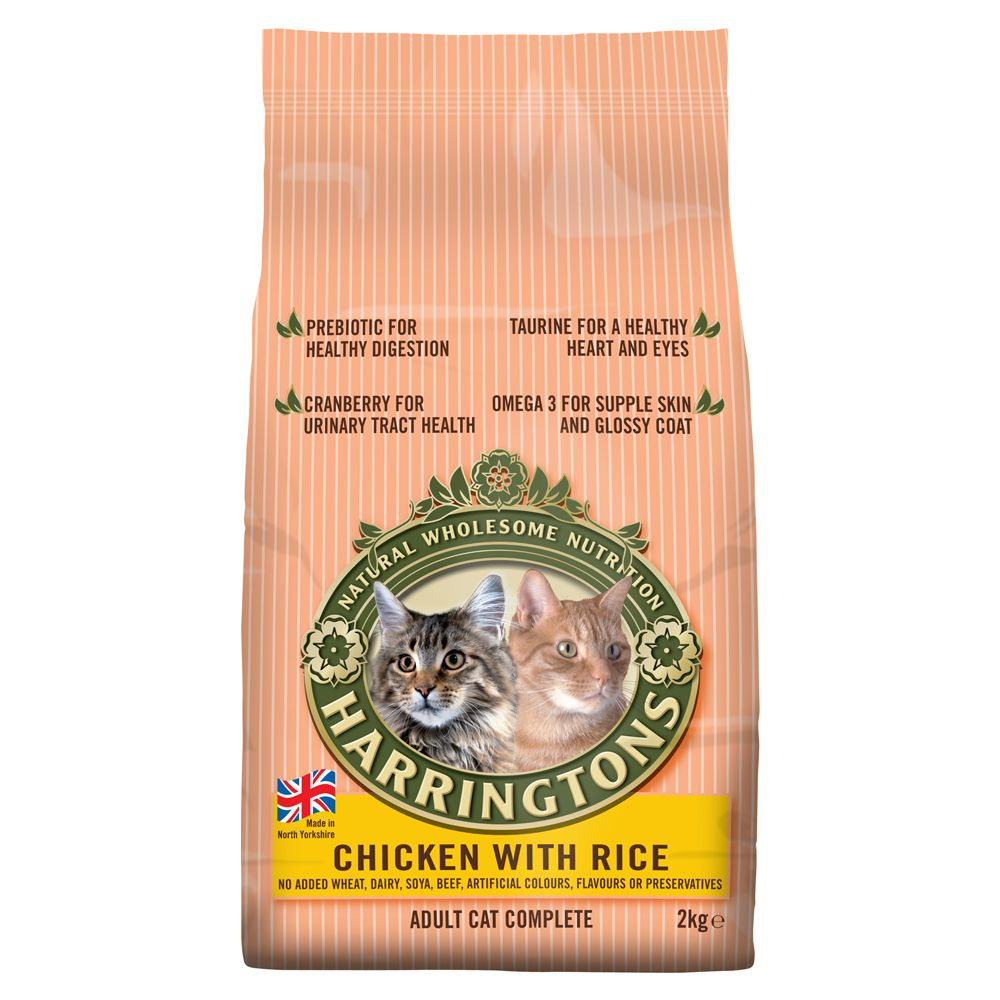 Harringtons Complete Cat – Chicken with Rice - 2kg