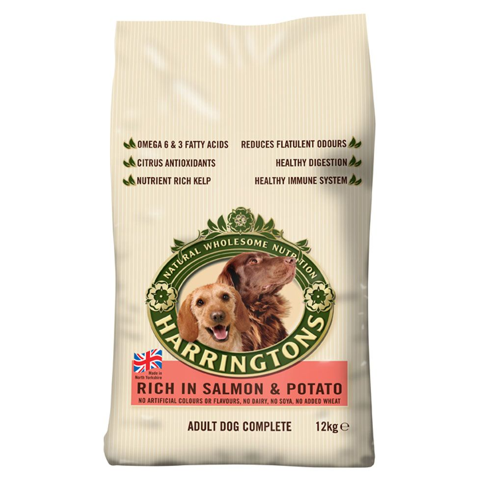 Harringtons Complete Adult Dog - Rich in Salmon & Potato - 12kg