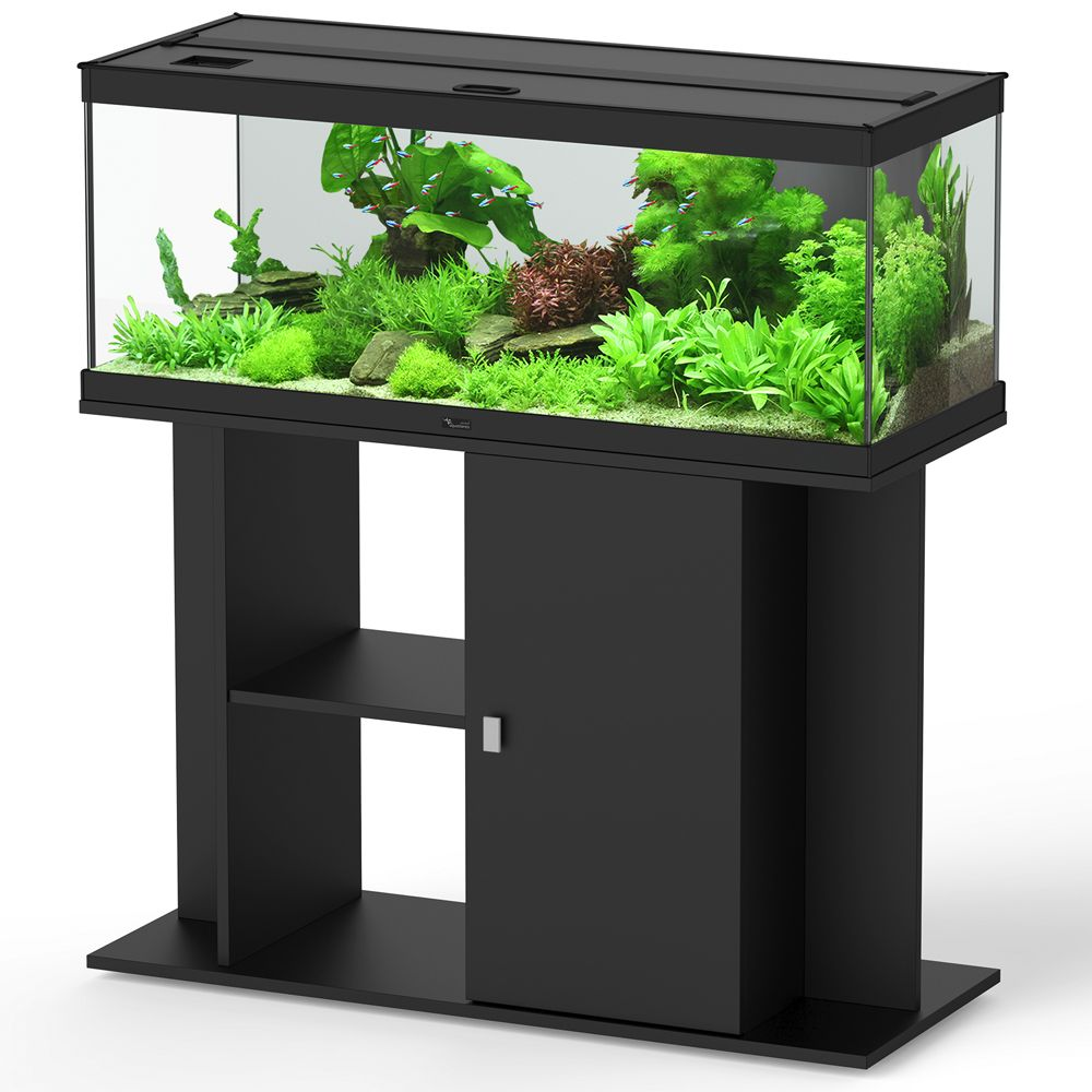 Image of Set acquario + supporto Aquatlantis Style 100 x 40 LED - nero