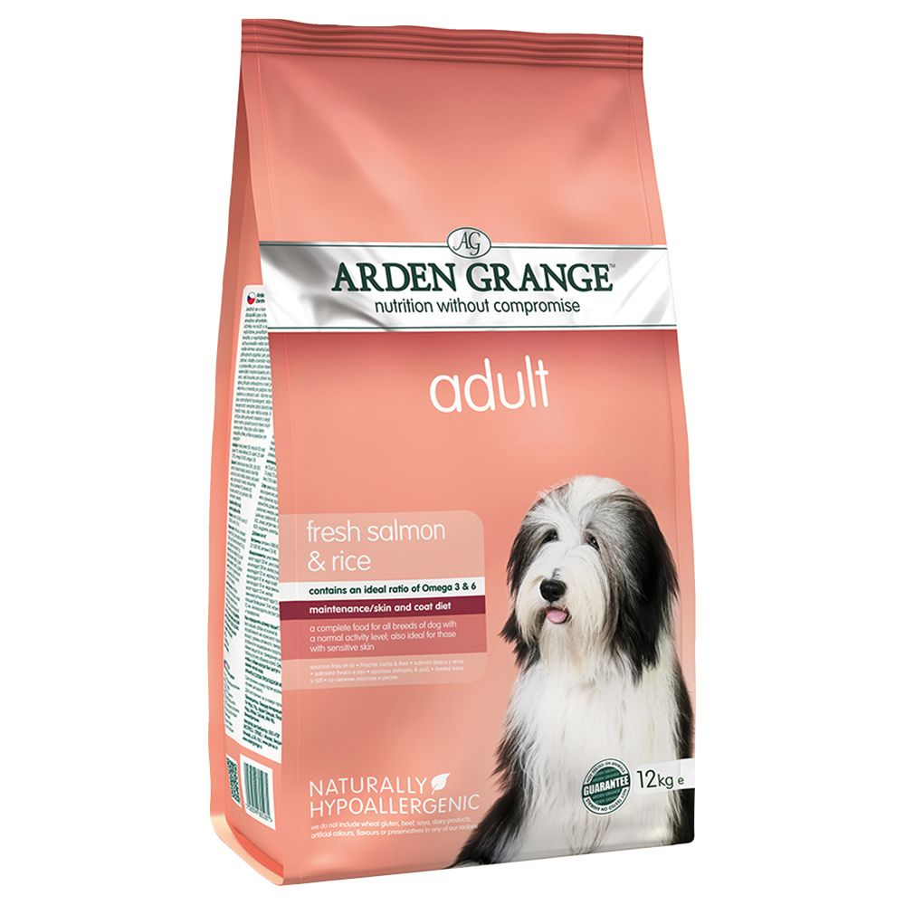 Arden Grange Adult Salmon & Rice Dry Dog Food