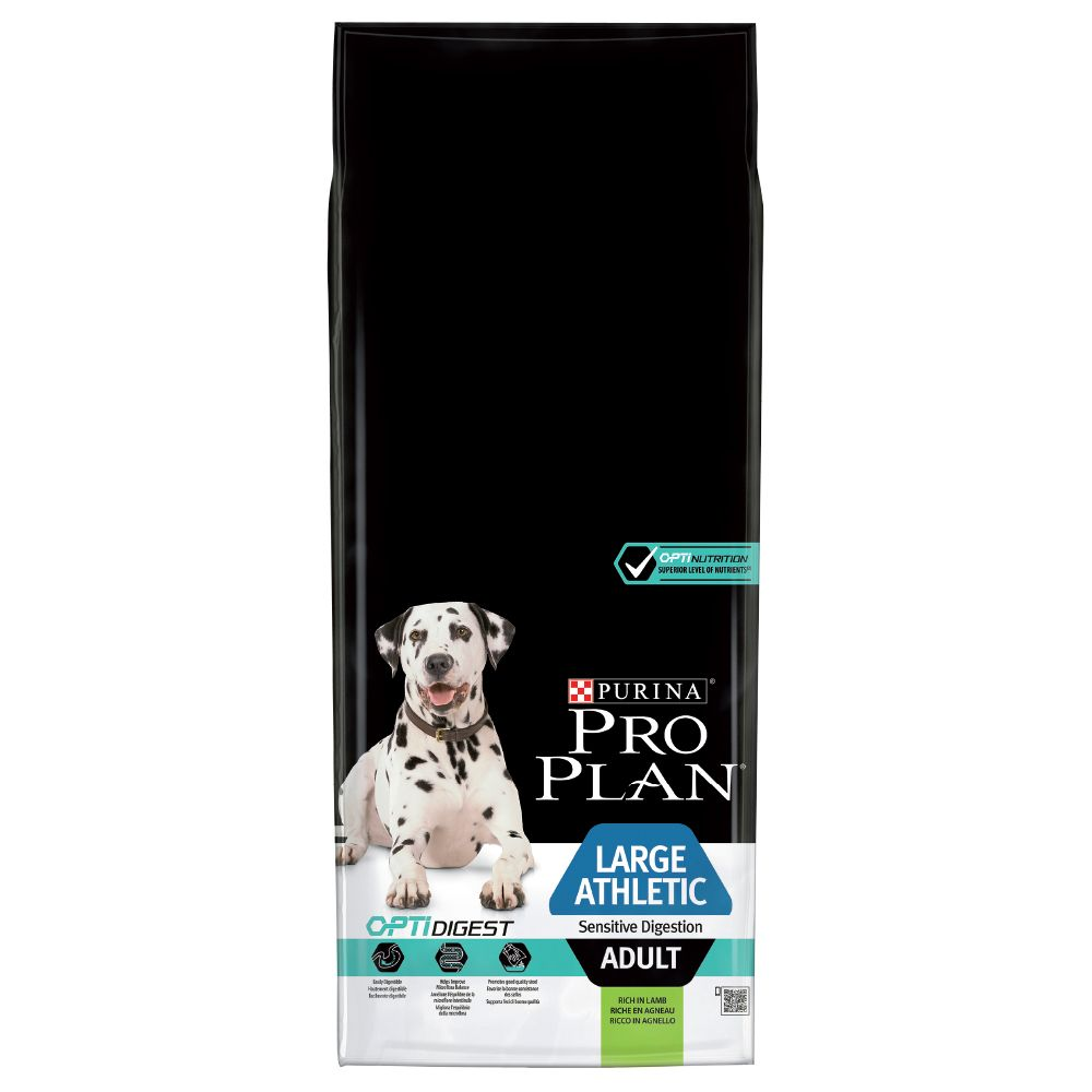 Adult Large Athletic OptiDigest Lamb Pro Plan Dry Dog Food