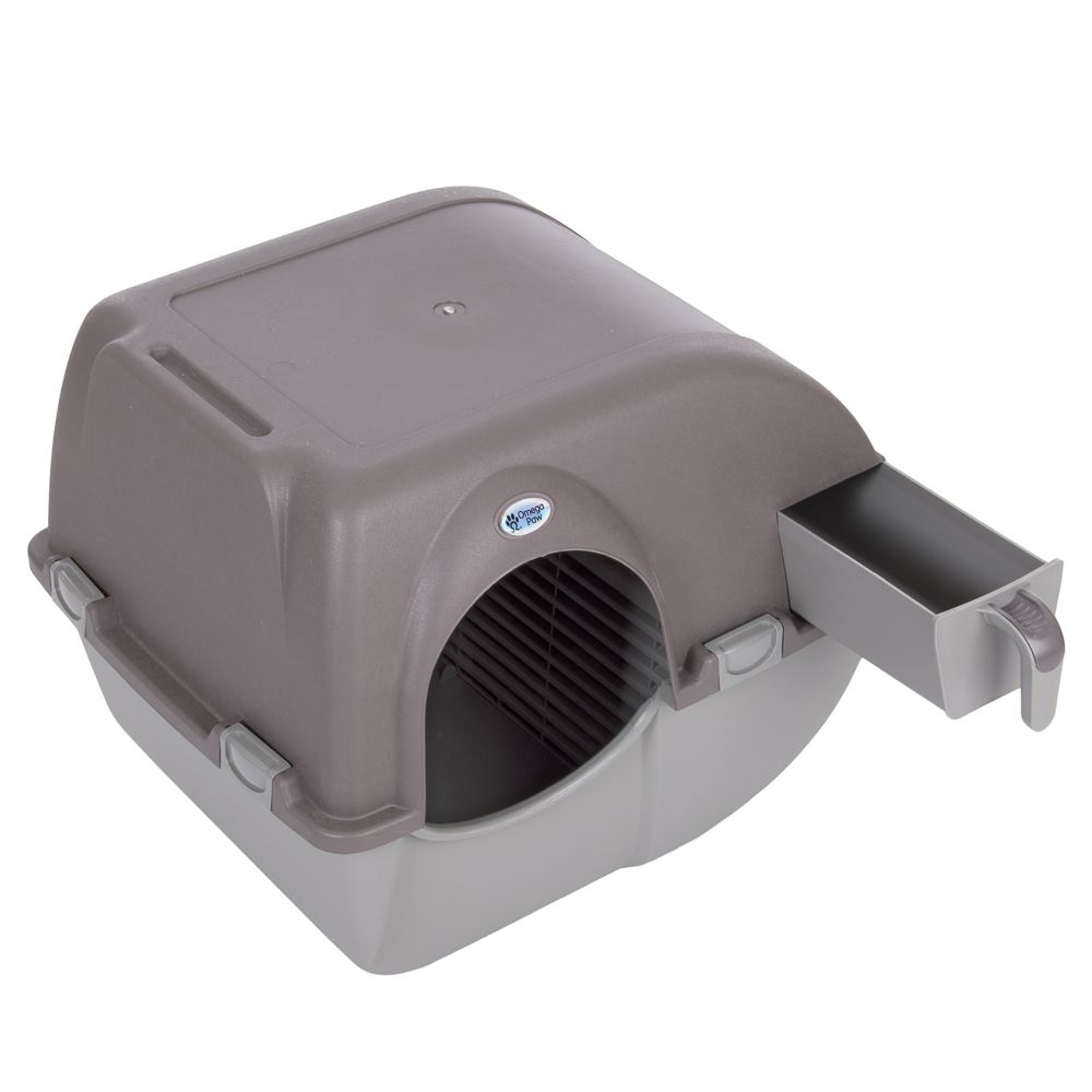 Omega Paw Roll'n'Clean Litter Box Self-Cleaning