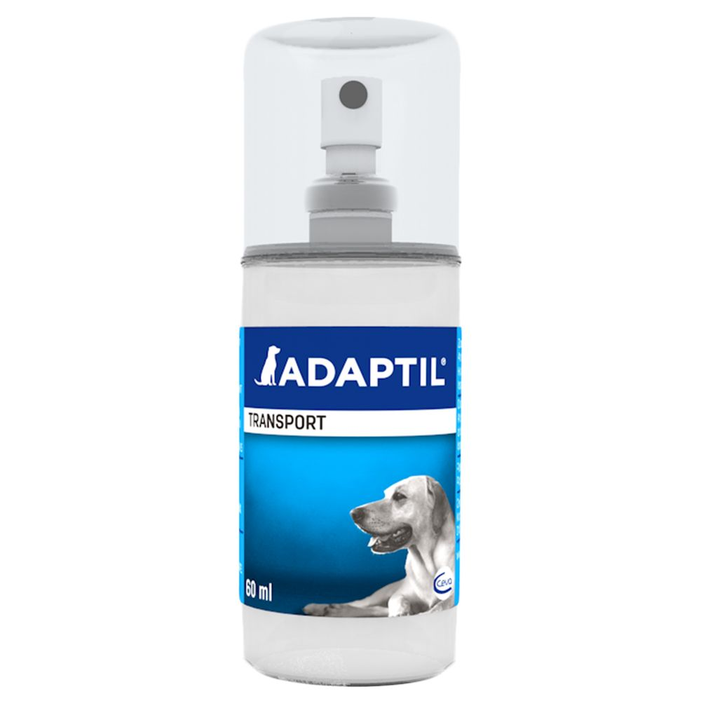 Adaptil Transport Spray can help your dog to cope with everyday situations that cause them stress or anxiety. Reactions to stress in dogs can manifest themselves a...