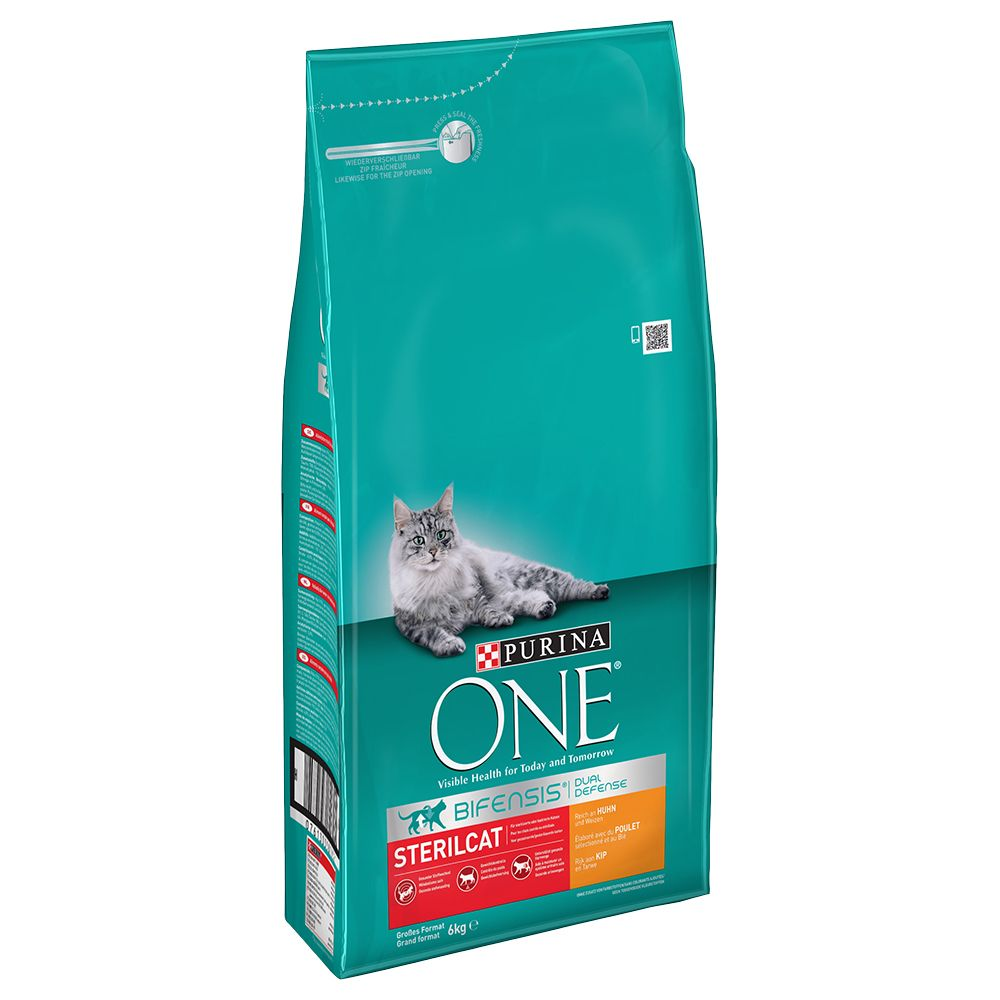 2 x 6kg Purina ONE Chicken Dry Cat Food