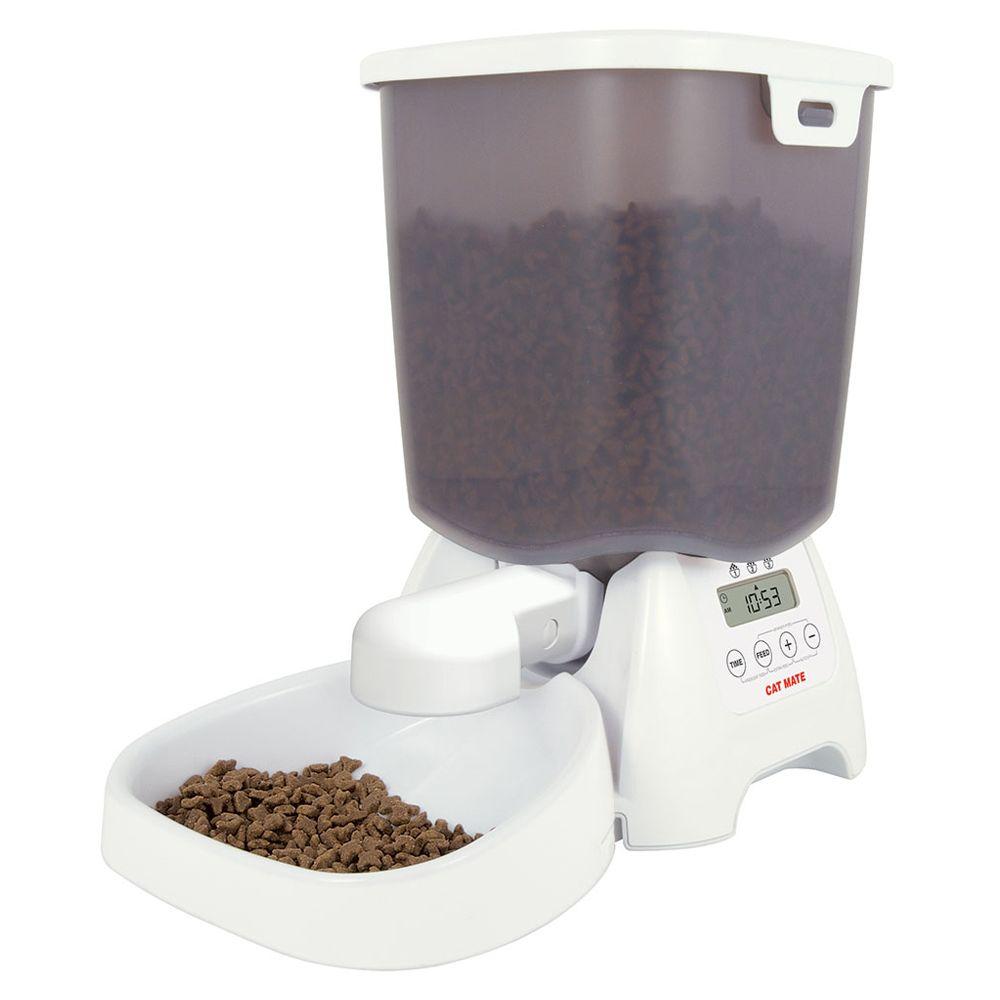 Cat Mate C3000 foderautomat - 3 kg torrfoder