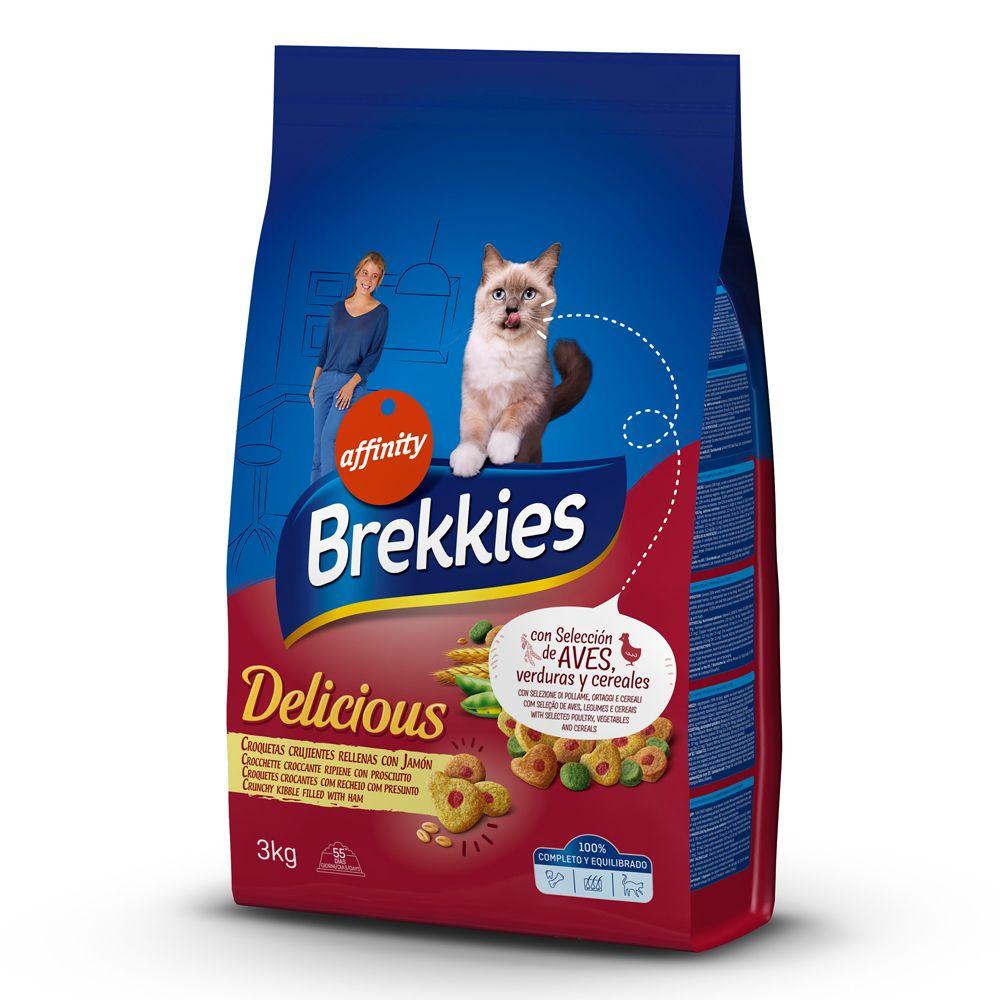 Brekkies Delicious Chicken, Turkey & Vegetables - Ekonomipack: 4 x 3 kg