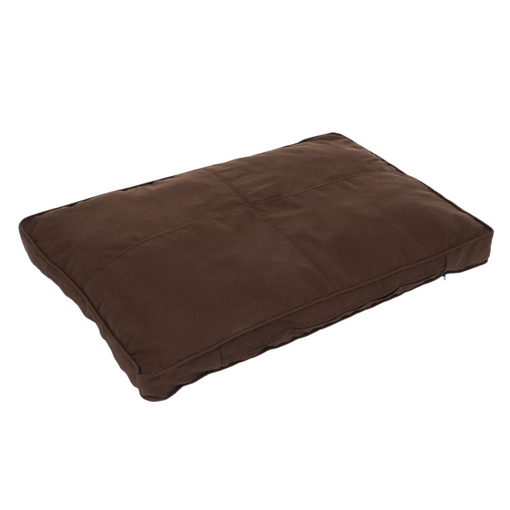 Cosy Mocha Brown Dog Mattress Dark Brown / Black
