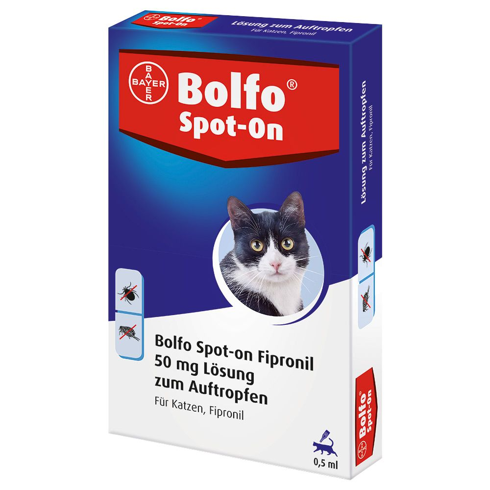 Bolfo Spot-on Katze - 3 Pipetten x 0,5 ml APO