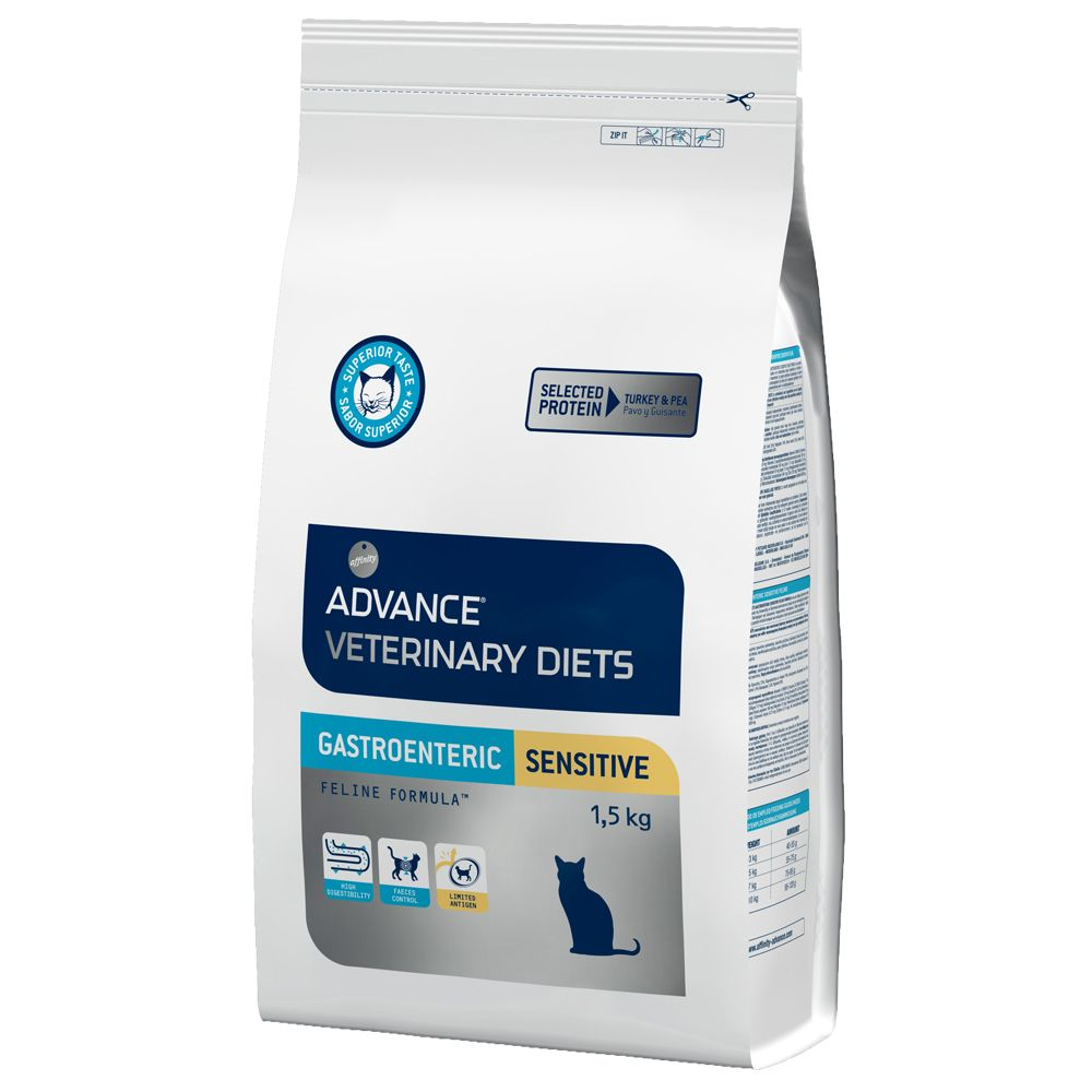 Advance Veterinary Diets Gastro Sensitive - Ekonomipack: 4 x 1,5 kg