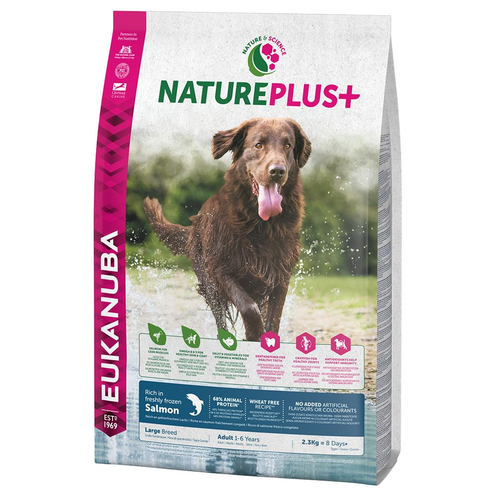 Eukanuba NaturePlus+ Large Adult Salmon
