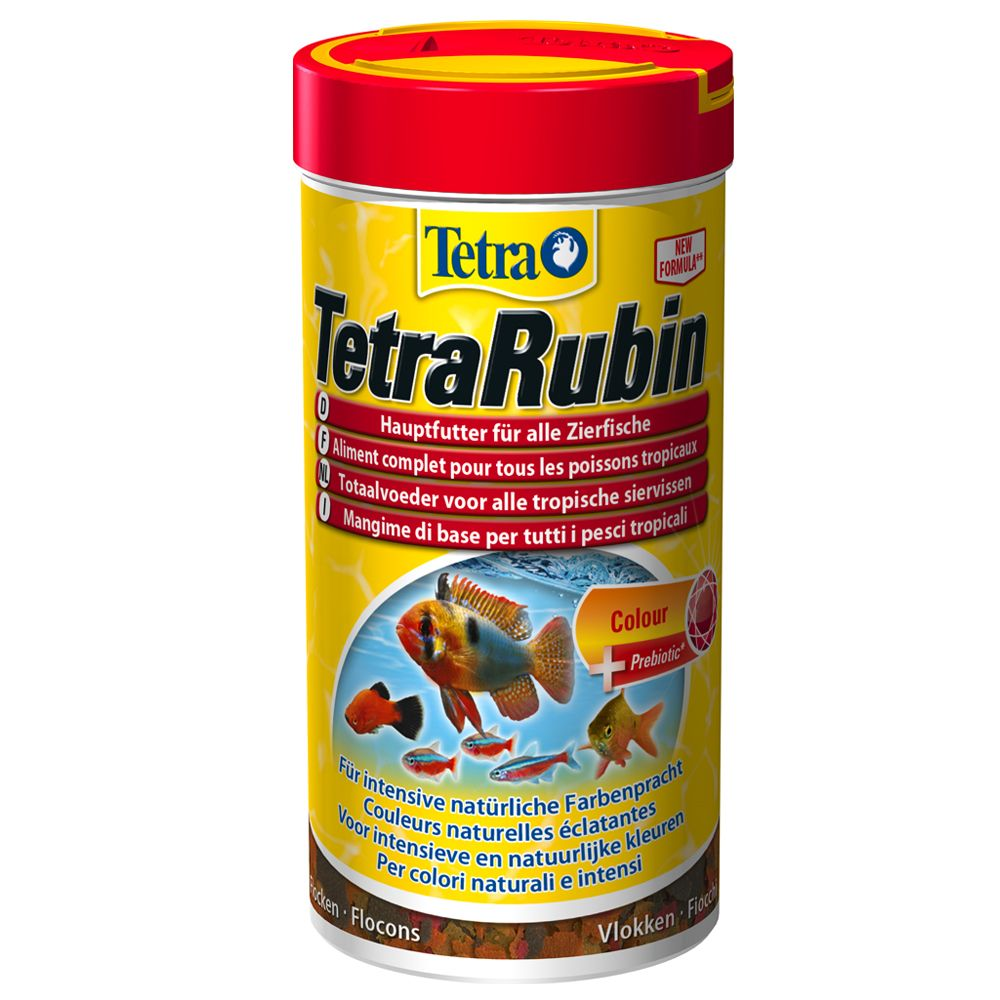 Aliment en flocons Tetra Rubin - 250 mL