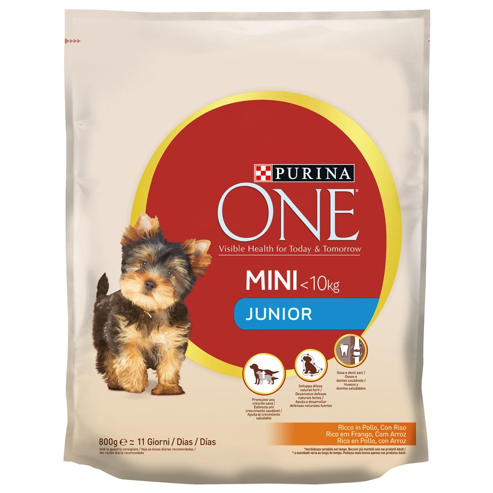 Purina ONE Mini Junior Chicken & Rice - 800 g