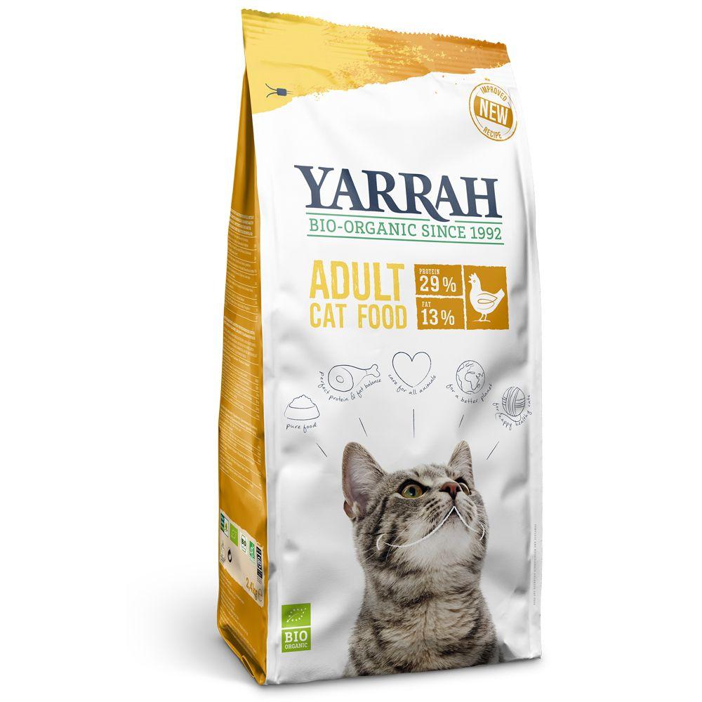 Yarrah Bio Katzenfutter mit Huhn - 2,4 kg