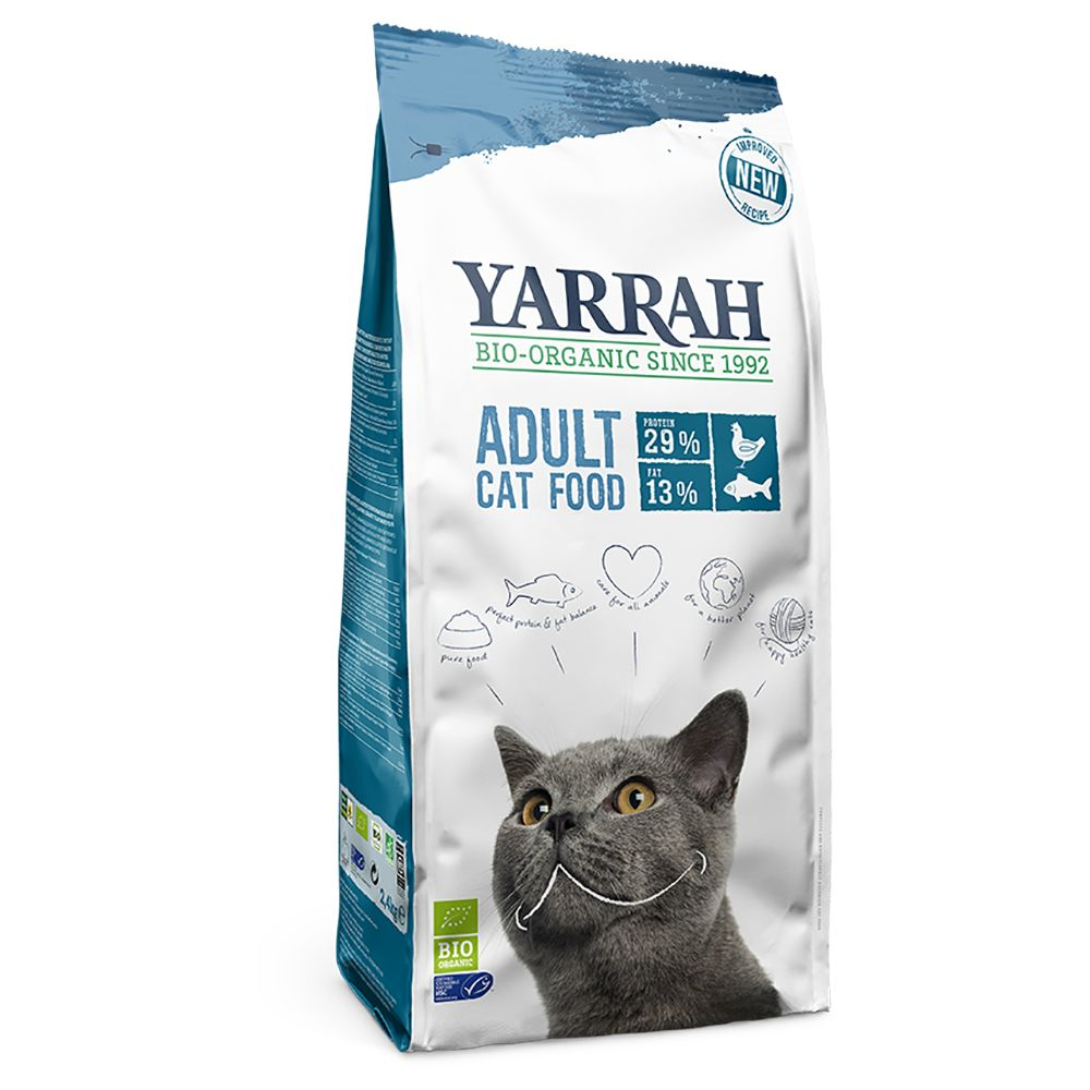 Yarrah Organic med fisk - Ekonomipack: 2 x 10 kg