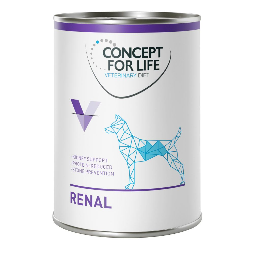 24x400g Renal Concept for Life Veterinary Diet Wet Dog Food