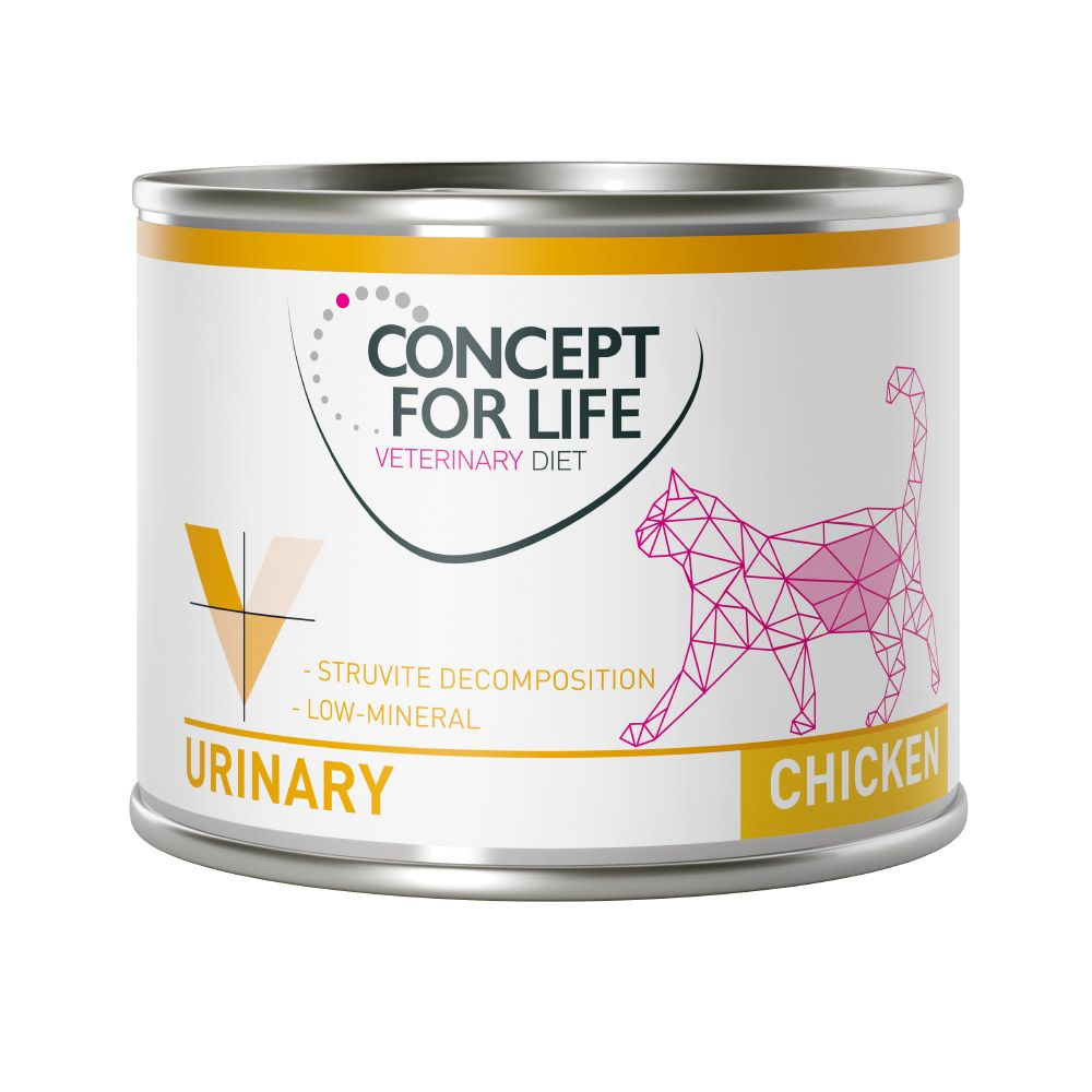 Concept for Life Veterinary Diet Urinary Chicken - 24 x 200 g